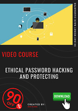 Ethical password hacking and protecting video course training tutorial DOWNLOAD