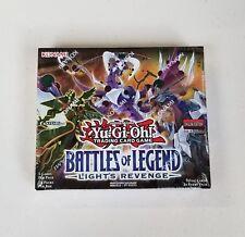 2018 Yu-Gi-Oh! batallas De Leyenda: luz's Revenge 1st edición Booster Caja Sellada