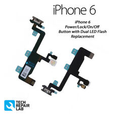 NEW Power Button/Lock On/Off Switch/Button Camera Flash Replacement For iPhone 6