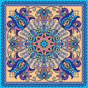 Tribal ethnic ornament Stickers for 6x6 Inches 4x4 and 3x3 tiles ma54