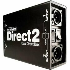 Whirlwind DIRECT2 - Passive, Two Channel Direct Box