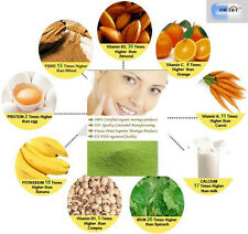 El Dr. T&T Pura 100% Premium calidad biológica Moringa Hoja En Polvo 1kg Certificada