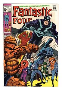 FANTASTIC FOUR 82, VF+ (8.5) INHUMANS APPEARANCE (SHIPS FREE) *