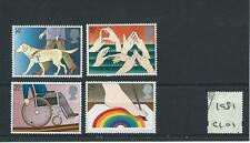 GB COMMEMS - C101- 1981 - INTERNATIONAL YEAR OF DISABLED - UNM. MINT SET