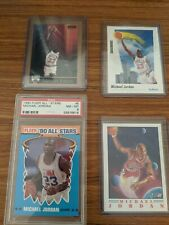 Michael Jordan Trading Cards NBA 90's including PSA 8 FLEER ALL STAR