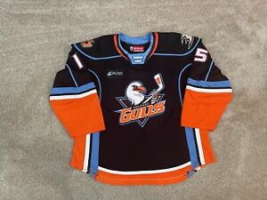 San Diego Gulls Game Worn Used 2021 AHL Authentic CCM Quicklite Jersey Enforcer