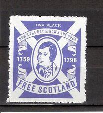 1964 Scotland Cinderella - Free Scotland - Robert Burns