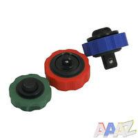 "3pc Thumbwheel Palm Ratchet Wrench Socket Adapter Tool Set 1/4"", 3/8"", 1/2"""