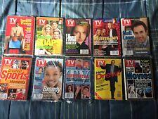 Lot of 10 TV Guides Jun-Jul 1998 movies, sports, Matt Lauer, Summer Pre and more