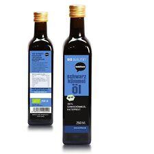 55,60€/L Wohltuer Bio Schwarzkümmel Öl 250 ml - Kaltgepresst (250ml Flasche)