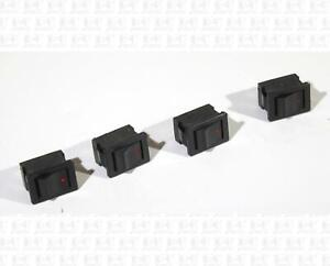 YMD KND3 Rocker Power Switches 250 VAC 2 Amp Lot Of 4