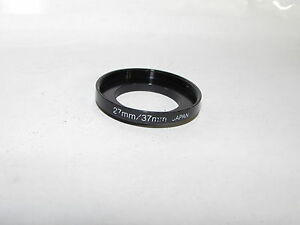 Generic 27 - 37mm Adapter Ring Step Up from 27mm to 37mm for lens filter O40519