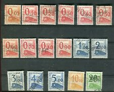 Colis postal ( petits colis ) série complète n° 31/ 47 oblitérés  cote 85€ - J24