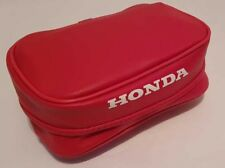 REAR FENDER BAG HONDA-XR100-200-250-400-600-BAG-TOOLS-RED-BLUE-amp-BLACK  REAR-F