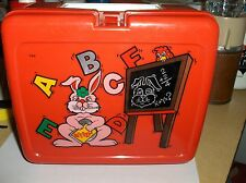 Notebook-Abc & 123 Numbers`Rabbit Plastic Lunchbox->Nice No Cracks>Free To Us