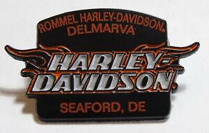 Rommel Harley Davidson Delmarva Seaford Pin New    Motorcycle Biker