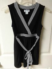 Vintage Motherhood Maternity Black Dress Size Adult Womens Small