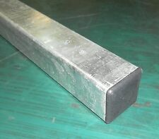 Metal Post 50x50x1400mm Hot Dip Galvanised for garden gates fence fencing