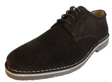 Hush Puppies Mens Brown Real Suede Retro Mod Desert Shoes
