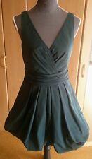 kurzes Kleid von Zero dunkelgrün Gröse 38