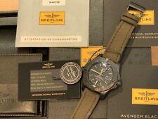 Breitling Avenger Blackbird 48mm Titanium Watch