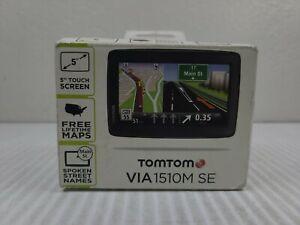 """TomTom VIA 1510TM SE 5"""""""" Automotive GPS Unit NEW OPEN BOX TO TAKE PHOTOS"""