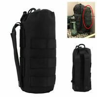 Tactical Molle Water Bottle Cup Military Bag Kettle Pouch Sport Protable Holder