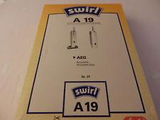 Staubsaugerbeutel Typ A 19 für AEG Staubsauger