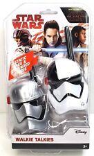 New Disney Star Wars Walkie Talkies Range to 500 Feet No Static. Free Shipping!