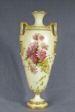 "ROYAL WORCESTER 11"" Vase c.1891-1910 Beautiful Elegant style PRISTINE CONDITION"