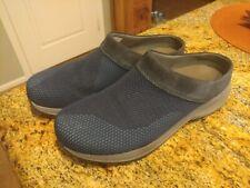 Womens Dansko Breathable Slip On Clogs US Size 10 Euro 40 Blue Slip Resistant
