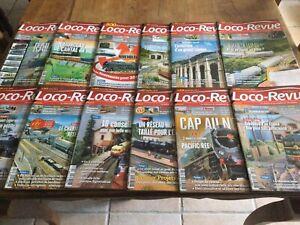 Lot Magazine Loco-revue N° 798 A 809 Annee 2014 Complete
