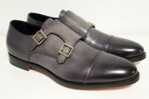 SANTONI Schuhe Herrenschuhe Businessschuhe - GR. 8,5 (42,5) - NEU OVP SONDERED