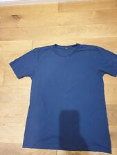 DENHAM Men's Blue T Shirt - Size L