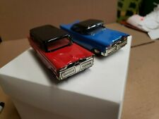 "Vintage tin toy friction cars 4 1/2 "" clean working condition."