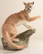 "Boehm Porcelain Sculpture ""COUGAR"" 10093 New"