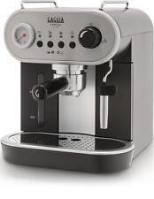 Gaggia Carezza Schwarz 6 Tassen Espressomaschine