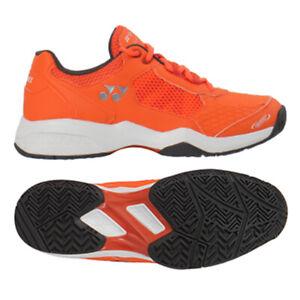 Yonex Power Cushion LUMIO 2 Men's Tennis Shoes Orange Racket All Court SHT-LU2EX