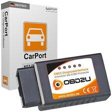 OBD2U E-327 Bluetooth CAN-BUS Diagnose-Interface VAG Opel Ford Mercedes Audi KFZ