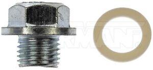 Engine Oil Drain Plug Standard M14-1.50, Head Size 17mm Dorman 65253