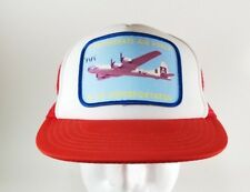 Vintage 80's Confederate Air Force B-29 Superfortress Patch Snapback Trucker Hat