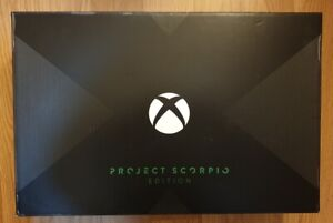 Xbox One X Project Scorpio Microsoft
