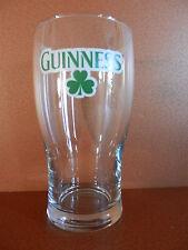 Guinness Brewing Company Clover 12 ounce beer glass.  NEW Dublin Ireland