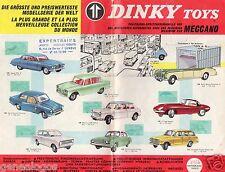 ORIGINAL GRAND CATALOGUE DINKY TOYS SUPERTOYS 1964 12 pages ETAT ASSEZ CORRECT