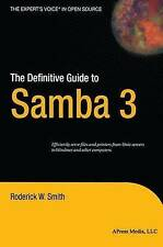 NEW The Definitive Guide to Samba 3 by Roderick Smith