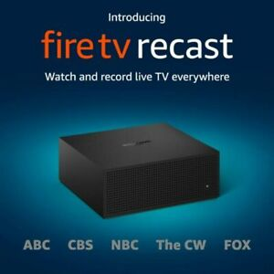 NEW Fire TV Recast, over-the-air DVR, 500 GB, 75 hours, DVR for cord cutters