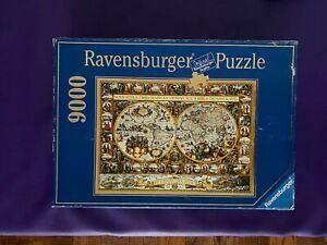 Ravensburger 9000 Jigsaw Puzzle BIG WORLD MAP 1611, Van den Keere