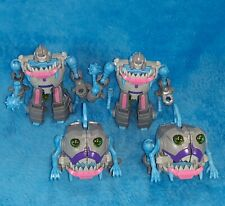Transformers Gnaw Sharkticons Titans Return Army Builder Troop lot of 4