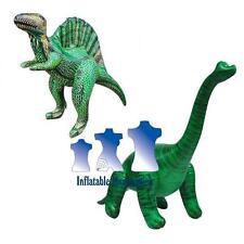 Inflatable Brachiosaurus and Spinosaurus