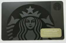 Starbucks Card #6142 - Siren on Black 2017
